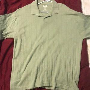 Men's pull over dress shirt short sleeve